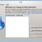 Snapshot Kubuntu krfb